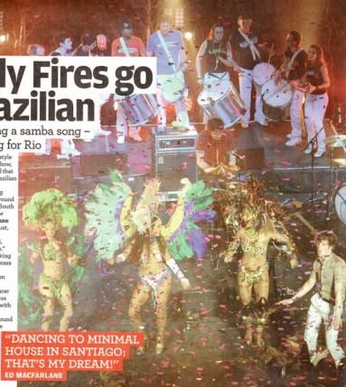 Sara Farina - Friendly Fires NME Awards