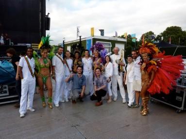 Sara Farina - Friendly Fires Wireless Festival